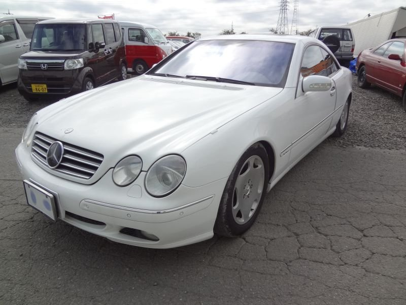 Mercedes benz cl600 2000 used for sale for Mercedes benz 745