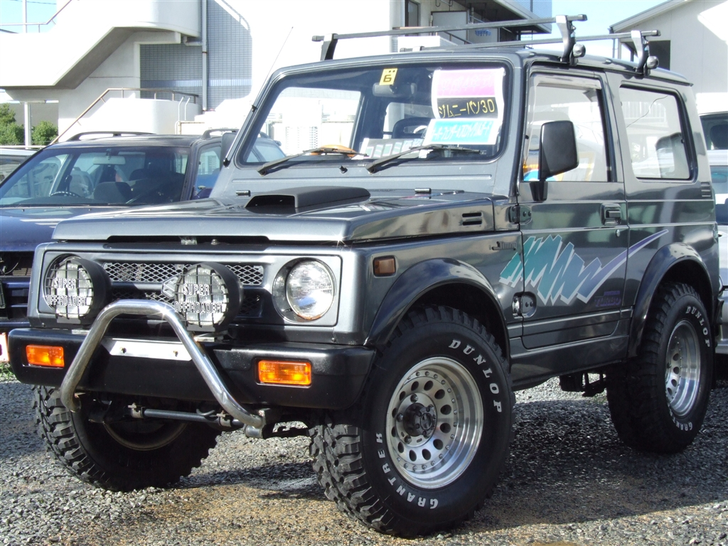 suzuki jimny 4wd turbo 1992 used for sale. Black Bedroom Furniture Sets. Home Design Ideas