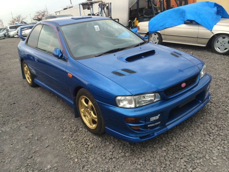 subaru impreza wrx r sti 5 1999 used for sale. Black Bedroom Furniture Sets. Home Design Ideas