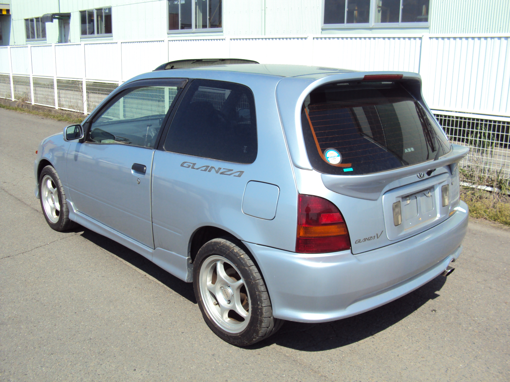 toyota starlet glanza v 1997 used for sale. Black Bedroom Furniture Sets. Home Design Ideas