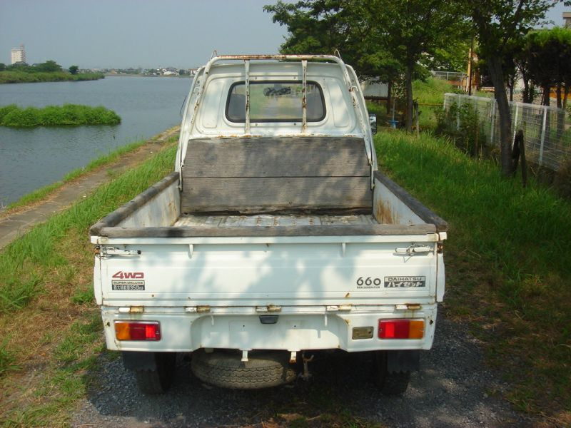 Daihatsu HIJET TRUCK 4WD, 1991, Used For Sale
