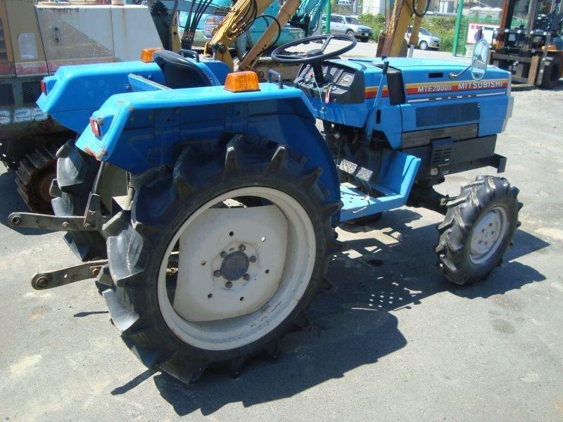 Mitsubishi Tractor Parts : Mitsubishi tractor used for sale