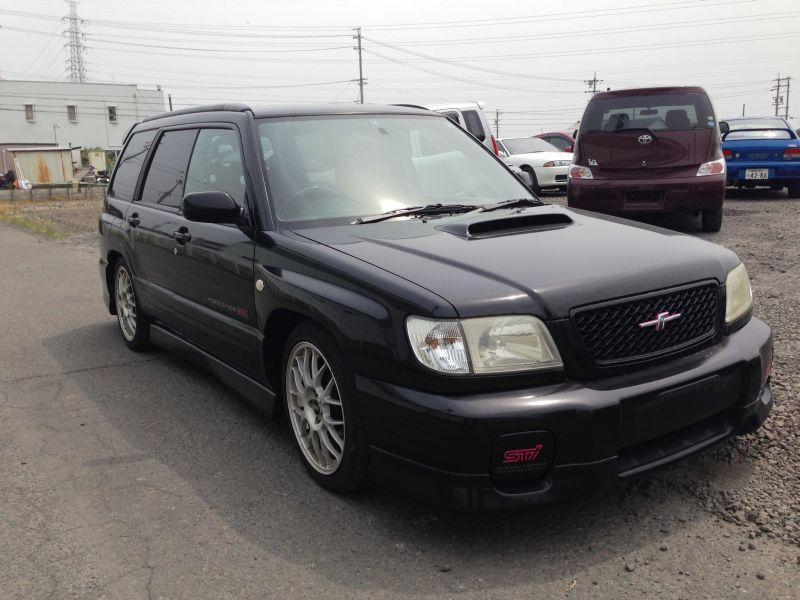 subaru forester 2 0 sti 4wd 2001 used for sale. Black Bedroom Furniture Sets. Home Design Ideas