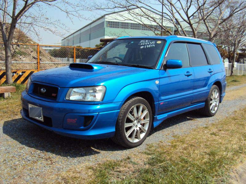 subaru forester sti ver 2004 used for sale. Black Bedroom Furniture Sets. Home Design Ideas