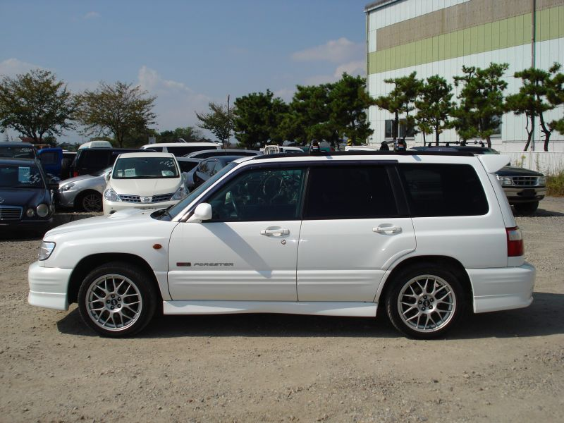 subaru forester s turbo sti2 4wd 2001 used for sale. Black Bedroom Furniture Sets. Home Design Ideas