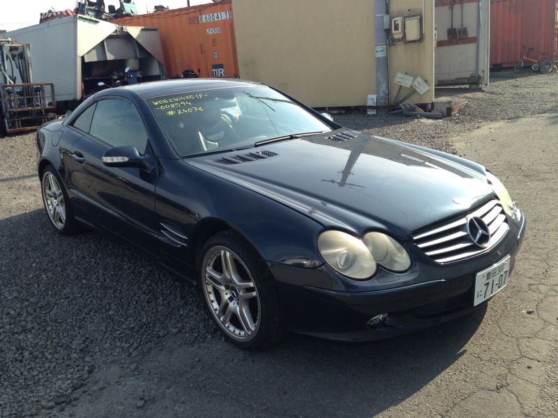 mercedes benz sl500 2002 used for sale