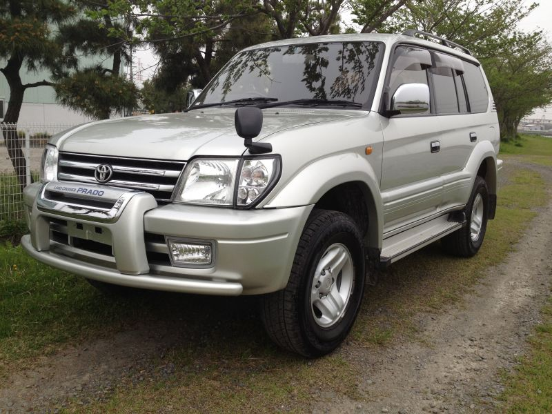 toyota land cruiser prado tx limited 1998 used for sale. Black Bedroom Furniture Sets. Home Design Ideas