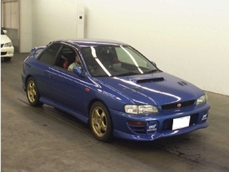 subaru impreza wrx wrx type r sti version 1998 used for sale. Black Bedroom Furniture Sets. Home Design Ideas