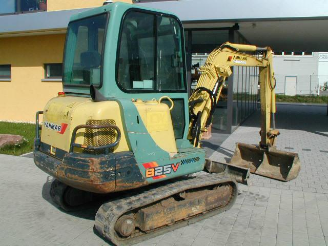 Yanmar 240d 2wd Parts : Yanmar mini excavator b v used for sale