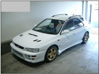 subaru impreza wagon wrx sti ver 5 1998 used for sale. Black Bedroom Furniture Sets. Home Design Ideas