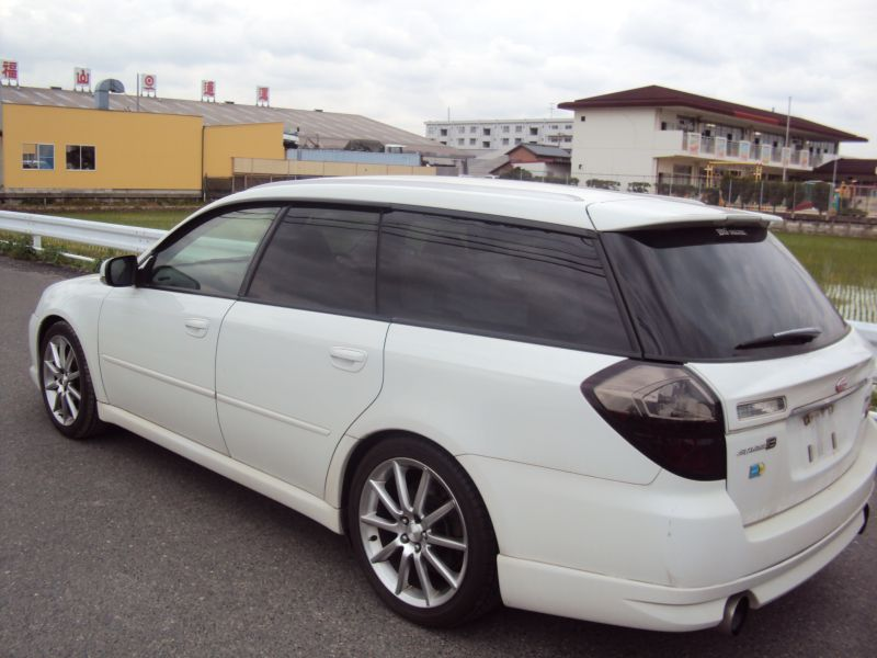 subaru legacy wagon 2 0gt spec b 2003 used for sale. Black Bedroom Furniture Sets. Home Design Ideas
