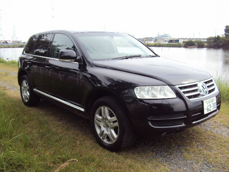 volkswagen touareg 2005 used for sale. Black Bedroom Furniture Sets. Home Design Ideas