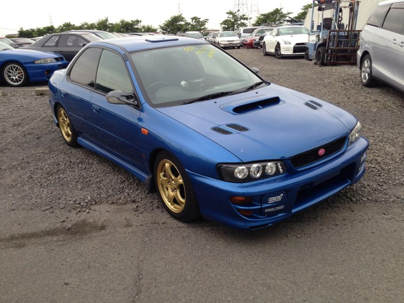 subaru impreza wrx type ra sit limited 1999 used for sale. Black Bedroom Furniture Sets. Home Design Ideas