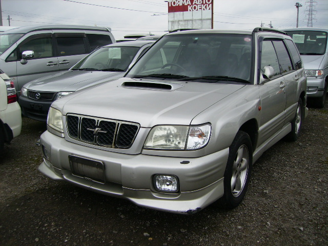 subaru forester s tb 2000 used for sale. Black Bedroom Furniture Sets. Home Design Ideas
