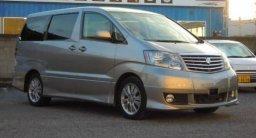 Toyota ALPHARD used car