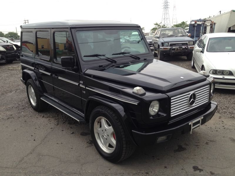Mercedes benz g class long 2002 used for sale for Used mercedes benz g500 for sale