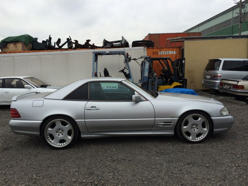 Mercedes benz sl500 1996 used for sale for Used mercedes benz sl500 for sale
