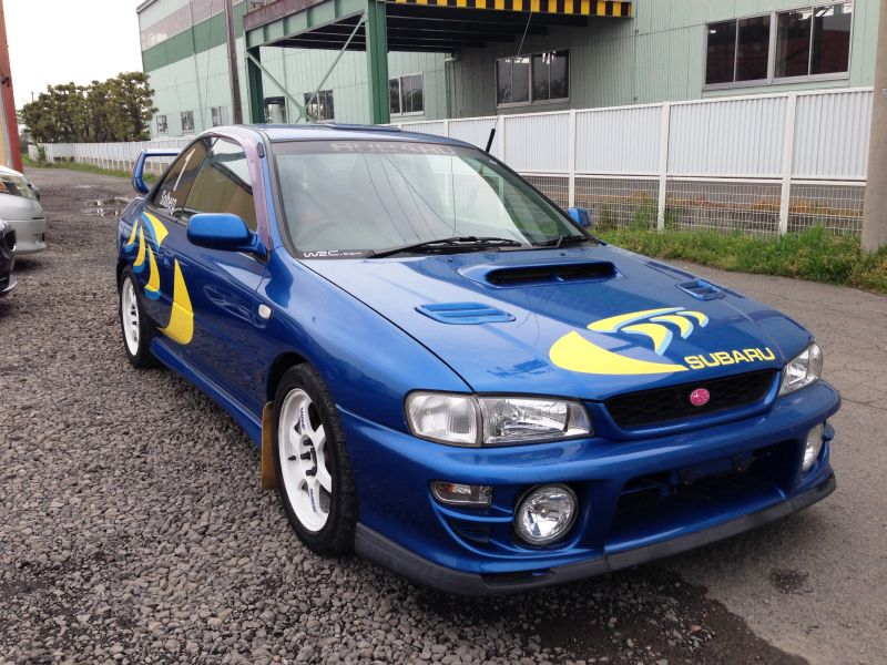 subaru impreza wrx r sti 5 1998 used for sale. Black Bedroom Furniture Sets. Home Design Ideas