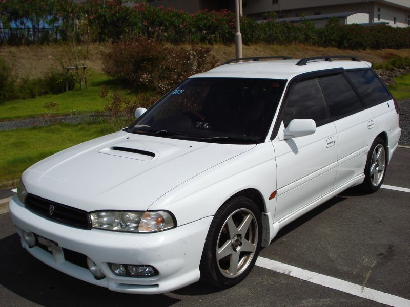 subaru legacy wagon 2 0 gt b 1998 used for sale. Black Bedroom Furniture Sets. Home Design Ideas