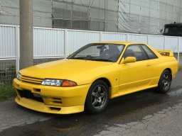 Nissan Skyline GT-R, Yellow, 1991