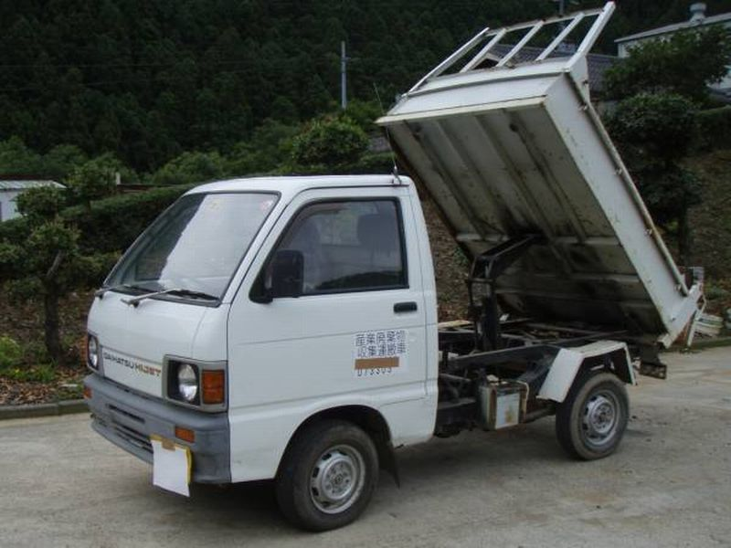 Daihatsu HIJET TRUCK DUMP 4WD, 1988, Used For Sale