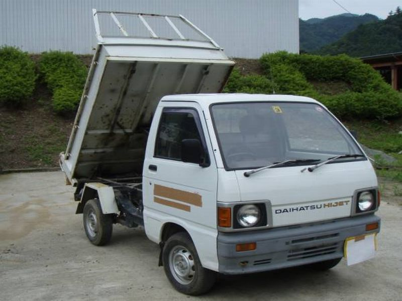 Daihatsu HIJET TRUCK DUMP 4WD, 1988, Used For Sale