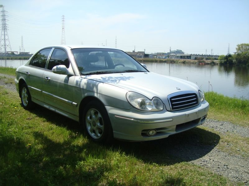 hyundai new ef sonata 2005 used for sale. Black Bedroom Furniture Sets. Home Design Ideas