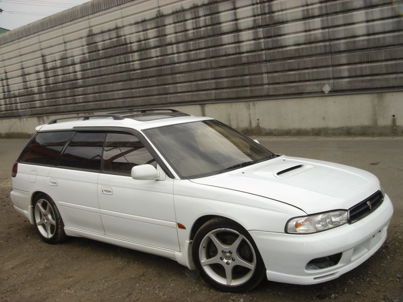 subaru legacy wagon gt b 1998 used for sale. Black Bedroom Furniture Sets. Home Design Ideas