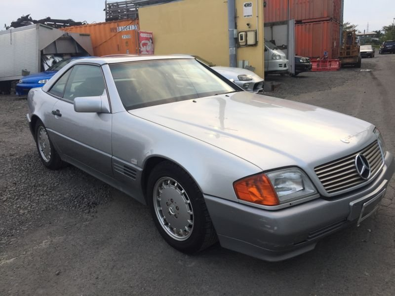 Mercedes benz 500 sl 1993 used for sale for Mercedes benz japan