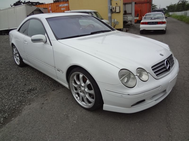 mercedes benz cl500 2001 used for sale
