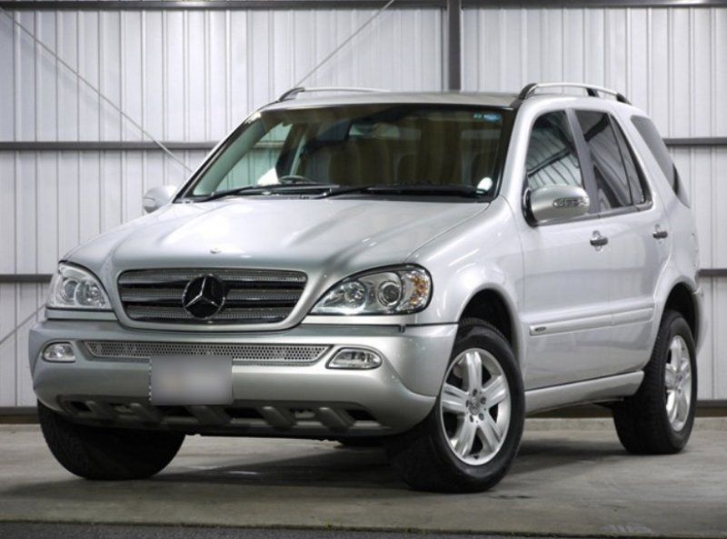 Mercedes benz ml 350 2005 used for sale for Mercedes benz japan