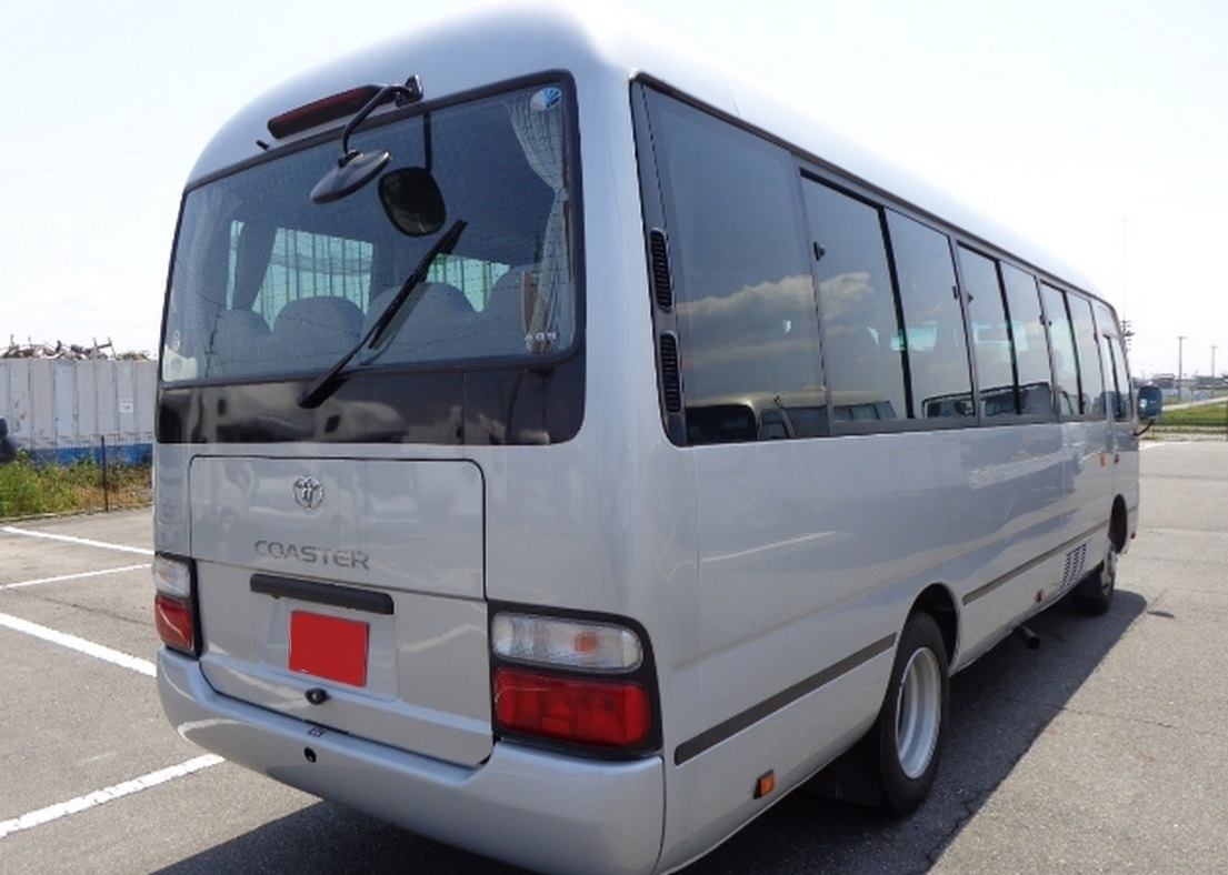 Toyota COASTER BUS, 2011, used for sale