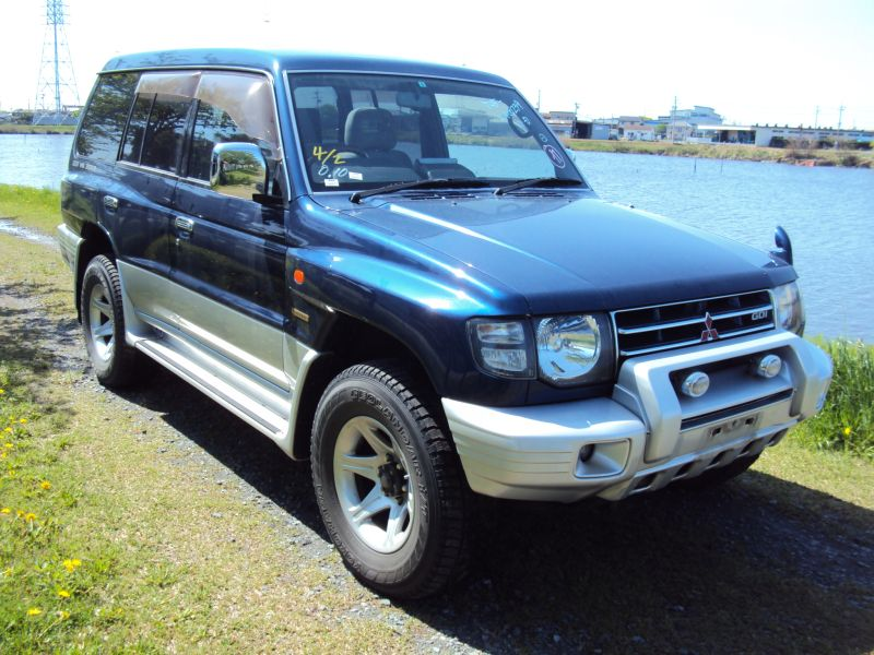 mitsubishi pajero long exceed 1997 used for sale. Black Bedroom Furniture Sets. Home Design Ideas