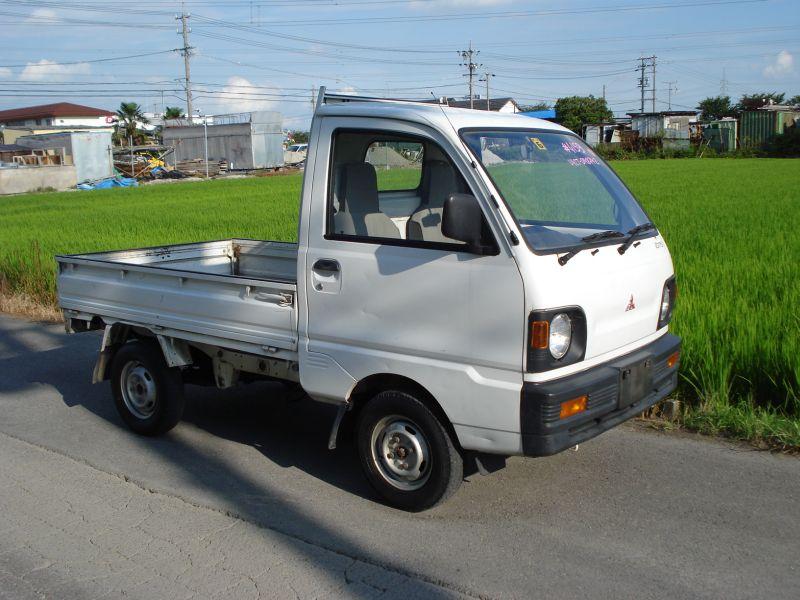 mitsubishi minicab truck 4wd 1993 used for sale. Black Bedroom Furniture Sets. Home Design Ideas