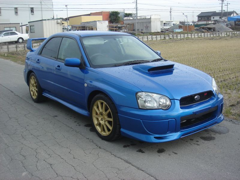 subaru impreza wrx sti 2005 used for sale. Black Bedroom Furniture Sets. Home Design Ideas