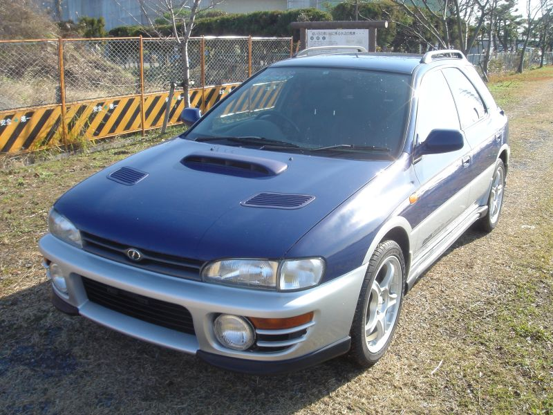 subaru impreza wagon gb 1995 used for sale. Black Bedroom Furniture Sets. Home Design Ideas