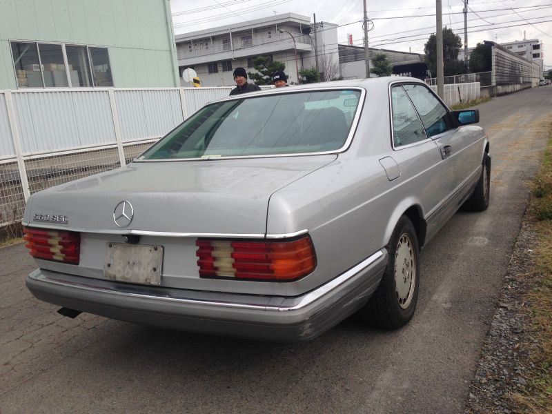 Mercedes benz 560sec 1987 used for sale for Mercedes benz 560sec for sale