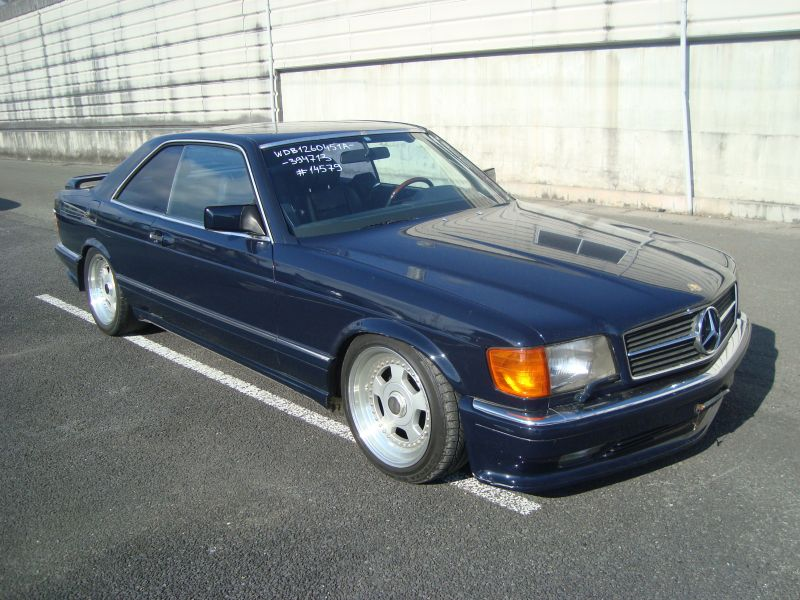 mercedes benz 560sec 1989 used for sale