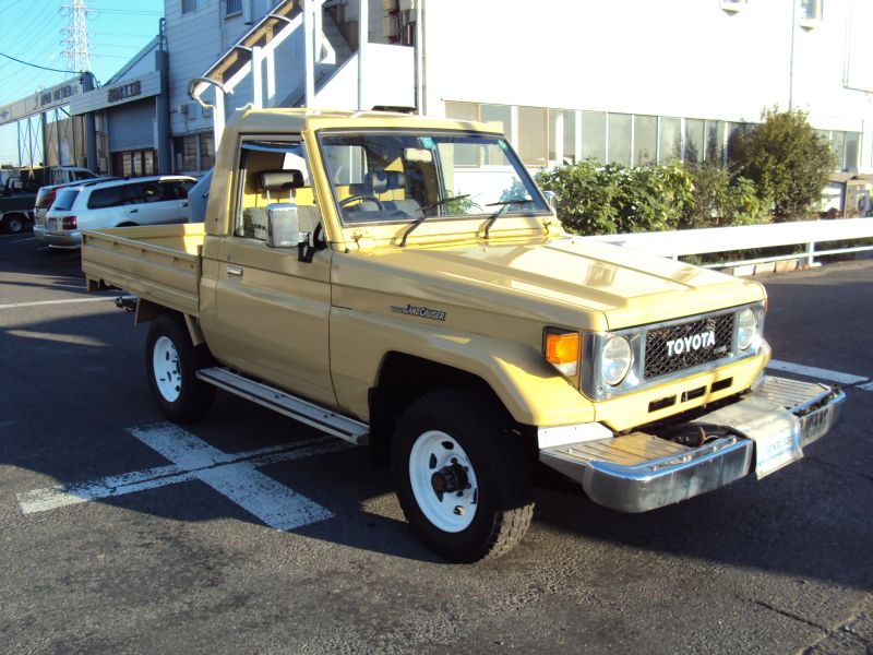 toyota land cruiser pick up 1988 used for sale. Black Bedroom Furniture Sets. Home Design Ideas