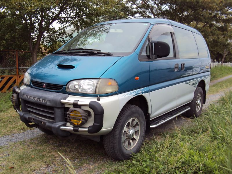 mitsubishi delica space gear jasper 4wd 1997 used for sale. Black Bedroom Furniture Sets. Home Design Ideas