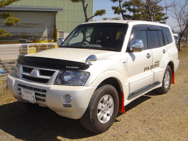 mitsubishi pajero exceed 2003 used for sale montero. Black Bedroom Furniture Sets. Home Design Ideas