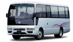 Used Nissan civilian bus