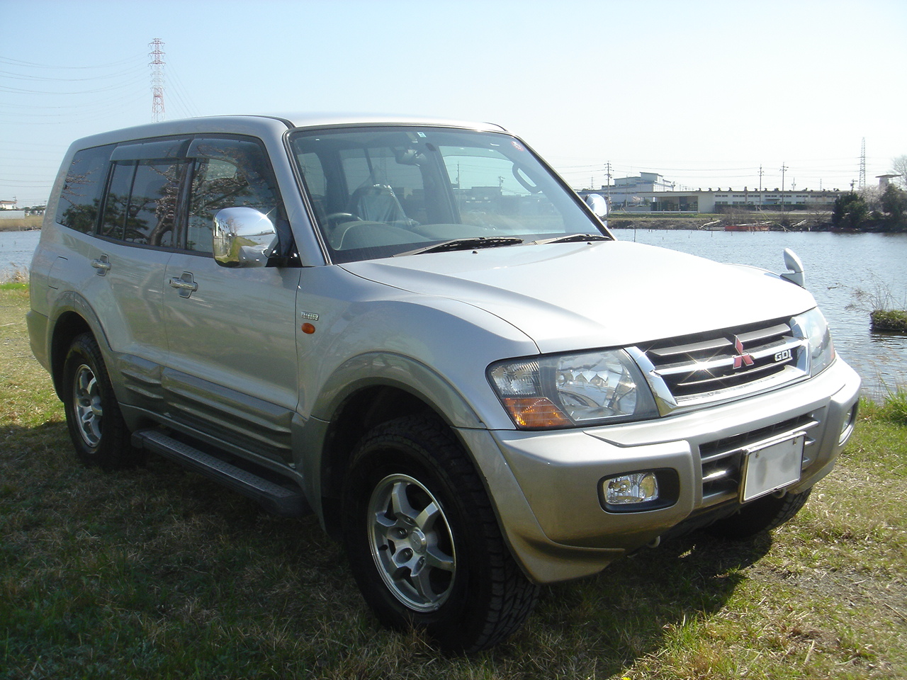 mitsubishi pajero exceed 2001 used for sale. Black Bedroom Furniture Sets. Home Design Ideas