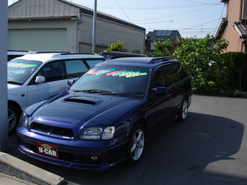 subaru legacy wagon gt twin turbo vdc 1999 used for sale. Black Bedroom Furniture Sets. Home Design Ideas