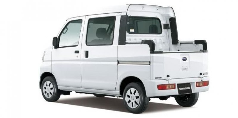 subaru sambar open deck van 2013 new for sale. Black Bedroom Furniture Sets. Home Design Ideas