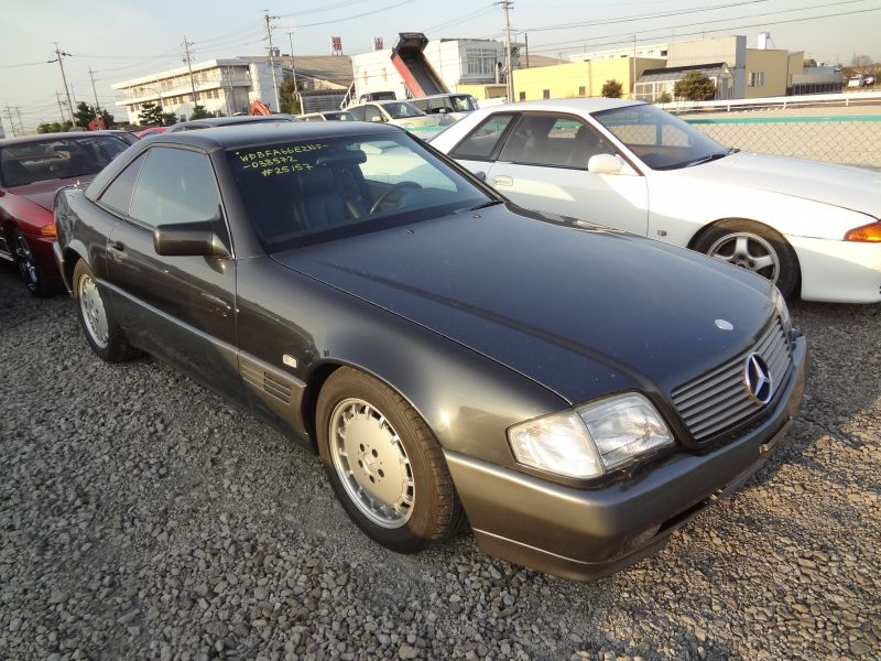 Mercedes benz 500 sl 1992 used for sale for Used mercedes benz sl for sale