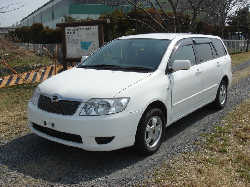 toyota corolla fielder 2005 used for sale. Black Bedroom Furniture Sets. Home Design Ideas