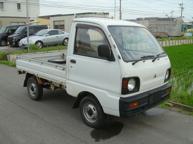 mitsubishi minicab truck 1993 used for sale. Black Bedroom Furniture Sets. Home Design Ideas