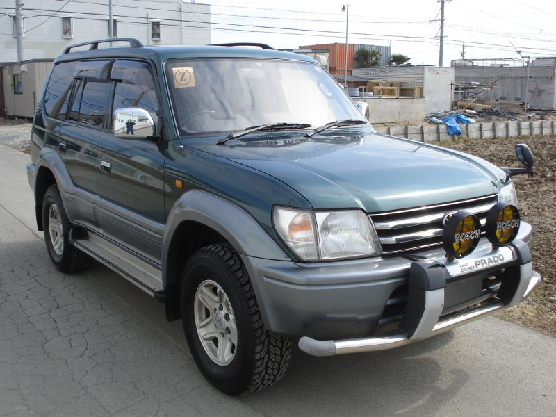 toyota land cruiser prado tz 1996 used for sale. Black Bedroom Furniture Sets. Home Design Ideas