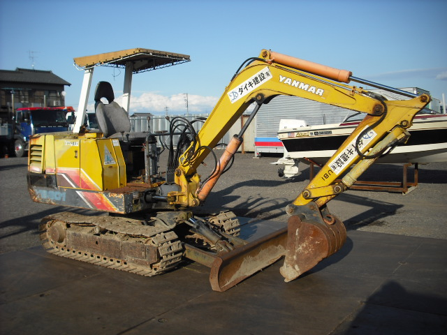 Yanmar 240d 2wd Parts : Yanmar mini excavator yb n a used for sale